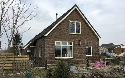 Project – Verbouw woning Kremboong 2 te Tiendeveen