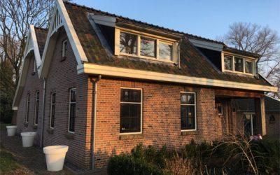 Project – uitbreiding en verbouw woning Commissieweg 30 te De Wijk