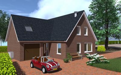 Nieuwbouw woning Asserweg 16b Hooghalen